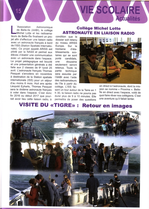 Le Petit Journal n°13 - 2e trimestre 2016
